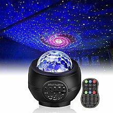 Starry Sky Projector Galaxy Ocean Wave LED Night