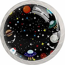 Starry Sky Universe Cabinet Knobs Knobs for