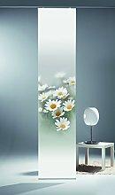 Startex Panel Curtain Polyester Grey/Yellow 260 x