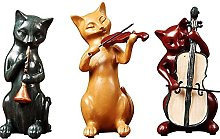 Statues,Cat Decoration Modern Minimalist