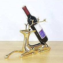 Statues,Home Crafts Deer Decoration Wine Cabinet