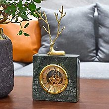 Statues,Marble Clock Watch Office Accessories