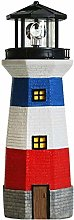 Statues,Solar Garden Statues Lighthouse With
