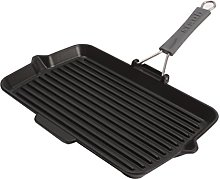 STAUB 40509-343-0 Cast Iron Rectangular Grill Pan,