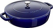 STAUB 40511-476-0 Cast Iron Chistera, Dark Blue,