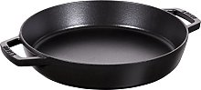 STAUB Cast Iron, Frying Pan with Two Handles,