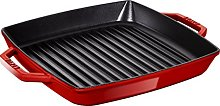 STAUB Cast Iron Pan with two handles, Suitable for