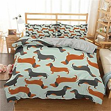 STBDWOSF® Duvet Cover Super King Size Brown