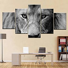 STDJ Prints On Canvas 5 Piece Canvas Wall Art