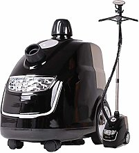 Steam cleaner - with adjustable clothes rail and