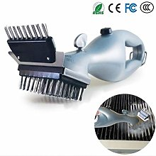 Steam Cleaning Barbeque DIY Grill Brush,Stainless