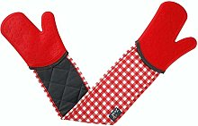Steam Stop Waterproof Oven Gloves - Gingham -