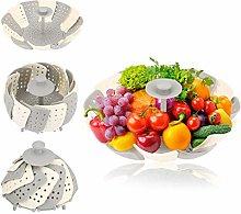 SteamerBasket Vegetable Steamer Basket Silicone
