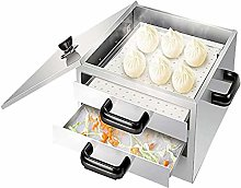 Steamer Pot, 2-Layer Household Rice Noodle Rolls