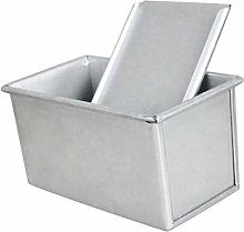 Steamer Pot Carbon Steel Loaf Pan with Cover,