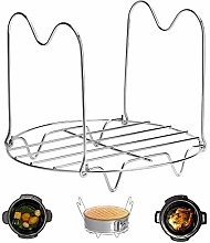 Steamer Rack Trivet with Handles Compatible with