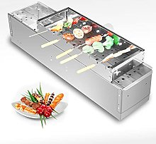 Steel Automatic Flipping Barbecue Grill for
