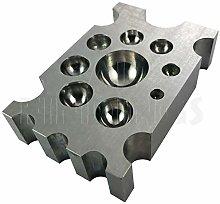 Steel Forming Block (Cheese) : Jewellers