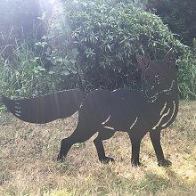 Steel Images - Fox Garden Art