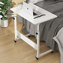 Steel Pipe Lap Desks with White MDF,Adjustable