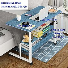 Steel Pipe Standing Desk Attachment with Blue