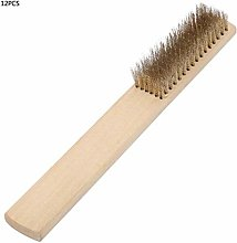 Steel Wire Brush 6.2in Handle Wire Brush Steel