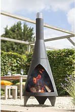 Steel Wood Burning Chiminea Belfry Heating