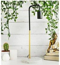 Steepletone - Marble Stone Base Desk Lamp Gold