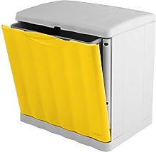 Stefanplast Amica Ecospace Bin, 20 L, Yellow, One
