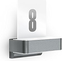 Steinel House Number Light L 820 LED Anthracite,