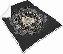 STELULI Blankets Viking Rune Valknut Regular
