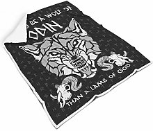STELULI Blankets Viking Wolf Regular Super Cozy