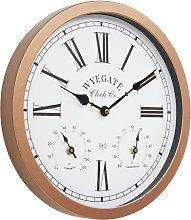 Steppe 38cm Wall Clock August Grove