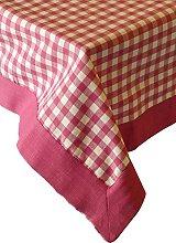 Sterck 140 x 140 cm Tablecloth, Ziro Pink