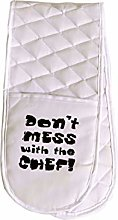 Sterling Sports®DOUBLE OVEN GLOVES MITT 100%