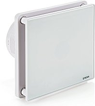 STERR - Bathroom Extractor Fan with Glass Front