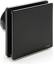 STERR - Black Bathroom Extractor Fan with Timer