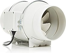 STERR - Quiet Duct Fan Inline Extractor 150-160 mm