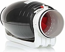 STERR - Silent Duct Fan Inline Extractor 100-125