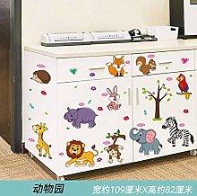 Sticker self-Adhesive Creative Girl Cabinet Closet