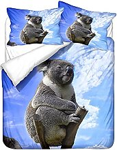 Sticker Superb. 3D Animal Duvet Cover Set and