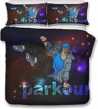 Sticker Superb 3D Modern Parachute Passion Sport