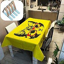 Sticker Superb. Animal Bear Cat Dog Tiger Table