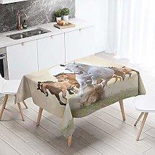 Sticker Superb. Table Cloths Rectangle, 3D Animal