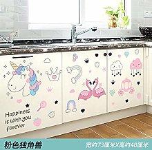 Stickers Glass Cabinet Door Stickers Decorative