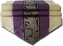 stickersquare Elephant Cream and Purple Table