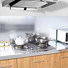 Sticky Back Plastic Roll Aluminum Effect Kitchen