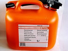 Stihl Orange Petrol Canister 5l