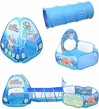 STOBOK 3 In 1 Play Tent Set Pop Up Play Tent with