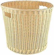 STOCK CASH Polypropylene Laundry Basket Beige 42 x
